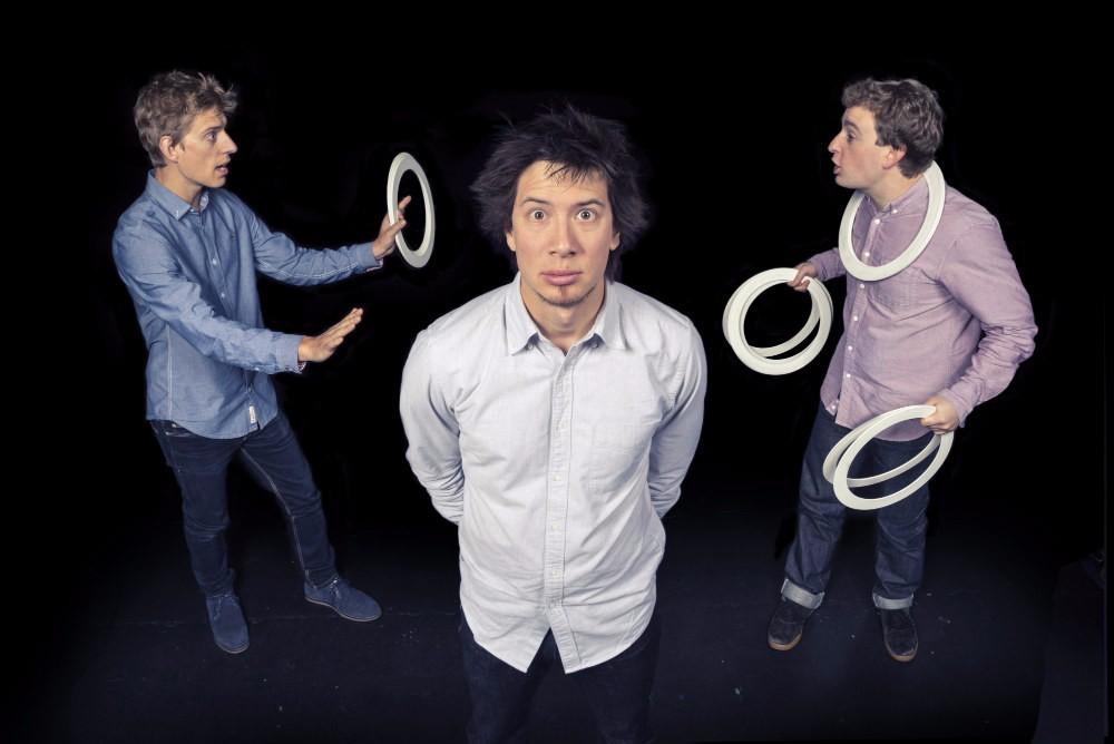 Circus Geeks Beta Testing Gestures Udderbelly Festival 2015