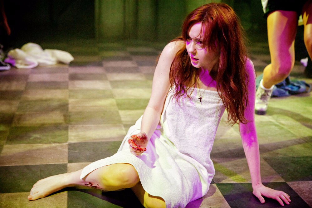 Evelyn Hoskins as Carrie in CARRIE - THE MUSICAL