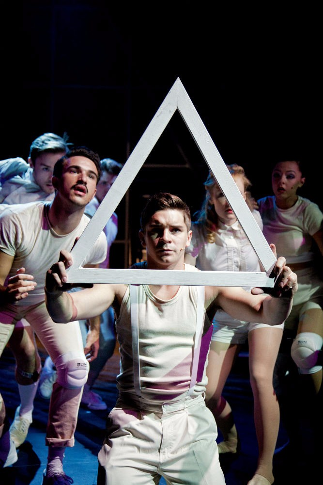 Ashley Birchall as Tommy and The Company in The Who's Tommy